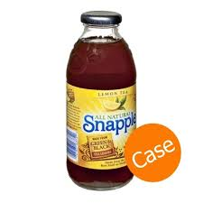 snapple by the case lemon iced tea