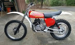 bultaco pursang 1976 red