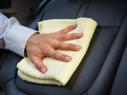 how to clean leather car seats diy