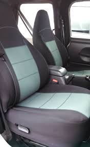 custom tj neoprene front set seat cover