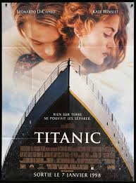 Titanic (1997) Original French Grande ...