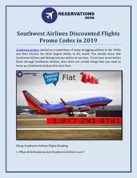 southwest airlines ed flights