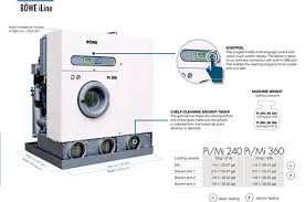 bowe iline dry cleaning machines for