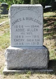Addie Allen Burleson (1868-1911) - Find A Grave Memorial