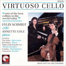 Felix Schmidt & Annette Cole - Virtuoso Cello (1988, CD) | Discogs