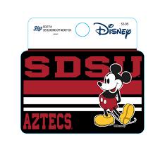 Shopaztecs Sdsu X Disney Sdsu Aztecs Mickey Mouse Decal