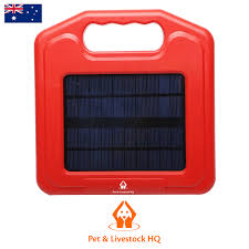 3km Solar Electric Fence Energiser Charger Pet And Livestock Hq
