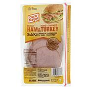 honey ham honey smoked turkey sub kit