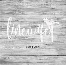 Linewife Lineman S Wife Car Decal Line Love Co