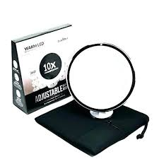 magnification lighted makeup mirrors