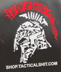 Free Tactical Shit Gun Spartan Vehicle Window Decal 5 5