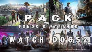 pack watch dogs 2 wallpapers full hd