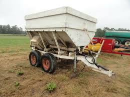 homemade seed spreader farm machinery