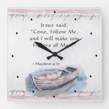 Matthew 4 19 Art Wall Decor Zazzle