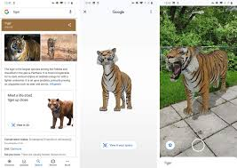 AR animals lets you put a tiger ...