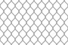 Realistic Metal Chain Link Fence Seamless Pattern Isolated Premium Vector In Adobe Illustrator Ai Ai Format Encapsulated Postscript Eps Eps Format