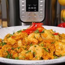Shrimp and Scallop Paella Pronto ...