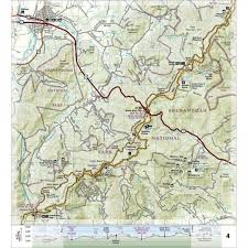 Appalachian Trail, Calf Mountain to Raven Rock [Virginia, West Virginia,  Maryland] Trail Map - National Geographic Map reference 1505
