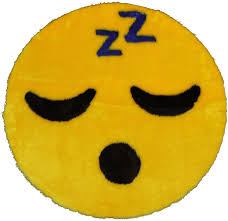 Amazon Com Walk On Me Emoji Rug Soft And Cute Made In France Perfect Emoji Mat Fit For Any Room Dorm Bed Bathroom Kids Room Emojis Sleeping Home Kitchen