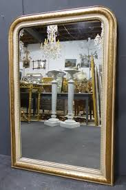 gesso antique french louis philippe mirror
