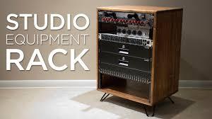 how to build a studio equipment rack