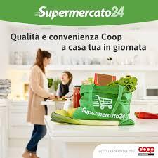 Supermercato24: la qualità e la convenienza Coop a casa tua