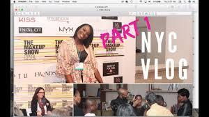 the makeup show nyc 2018 vlog