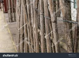 Bamboo Fence Asian Vintage Style Stock Photo Edit Now 273765521
