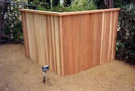 Jay S Redwood Fences Custom Wood Fences Gates Redwood Enclosures Los Angeles San Fernando Valley