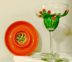 margarita glasses cactus cactus