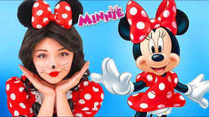 minnie mouse makeup face painting