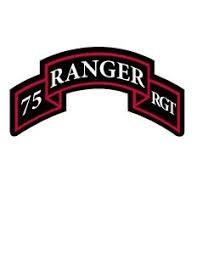 75th Ranger Regiment Tab Vinyl Decal Sticker Us Army Ebay