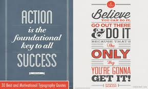 best motivational quotes and typography design inspiration