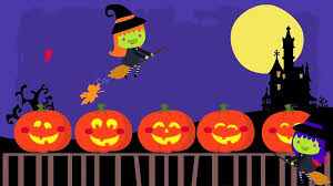 5 Little Pumpkins Sitting On A Gate Halloween Songs For Children Video Dailymotion