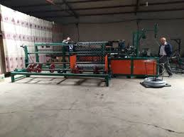 Plc Control Full Automatic Chain Link Fence Weaving Machine For Double Wire