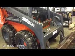 home made skid steer cab and door you