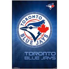 Toronto Blue Jays 23 X 34 Logo Wall Poster