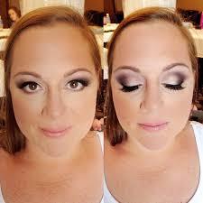 bridal makeup eggplant smokey eyes
