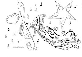 Kleurplaat Voor Volwassenen Music Kleurplaten Kleurplaten Voor