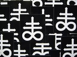 Leviathan Cross Sticker
