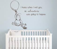 Winnie The Pooh Wall Decal Quote Nursery Art Decor Lovely Decals World