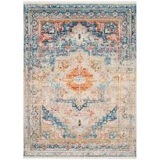 rosecrans cool warm weathered area rug