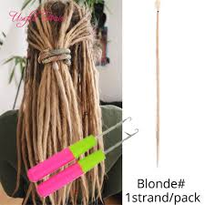 2020 synthetic hair extensions strands