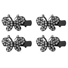 Anokhi Ada Stone studded Butterfly Hair Clips for Girls and Women (Combo of  4 Hair Clips)- 1004: Amazon.in: Beauty
