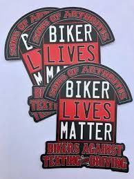 Biker Lives Matter 5 X 6 Sticker Sons Of Arthritis