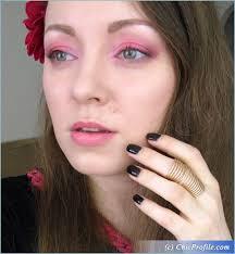 h m pink eyeshadow palette makeup