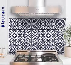 Tile Wall Decal Moroccan Tile Sticker For Kitchen Bathroom Etsy