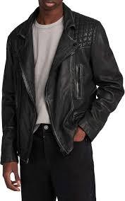 slim fit leather jacket size x large