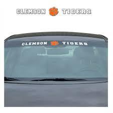 New Ncaa Clemson Tigers Car Truck Suv Windshield Vinyl Decal 681620807141 Ebay