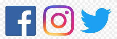 Facebook Twitter Instagram Png - Fb Twitter Instagram Logo Png Clipart in  2020 | Twitter logo, Instagram logo, Facebook and instagram logo